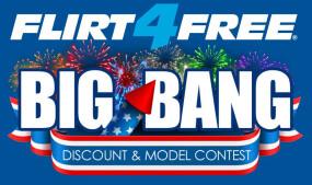 Flirt4Free Announces 4th of July 'Big Bang' Celebration