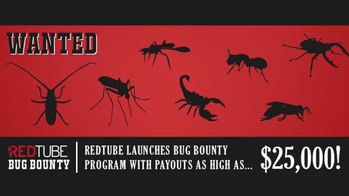 RedTube Rolls Out Bug Bounty Program With Up to $25,000 Payout