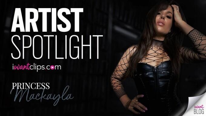 Princess Mackayla Featured in iWantClips' Artist Spotlight