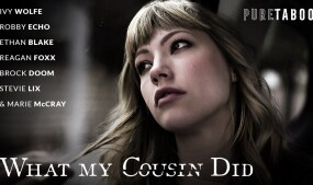 Ivy Wolfe Fends Off Feelings in PureTaboo's 'What My Cousin Did'