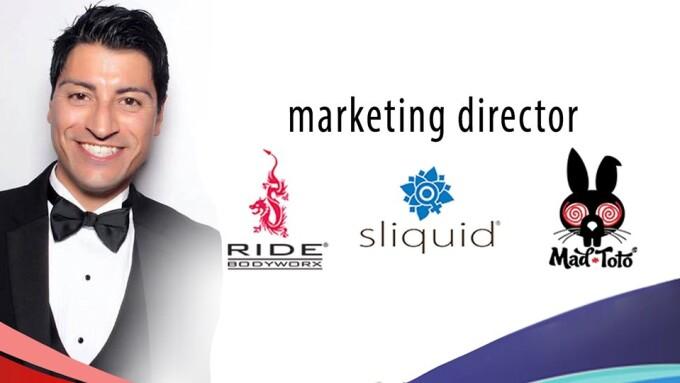 Sliquid Promotes Erik Vasquez to Marketing Director