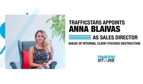 TrafficStars Names Anna Blaivas Sales Director