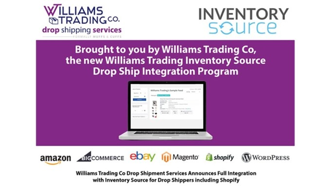 Williams Trading Announces Full Integration With Inventory Source