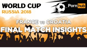Pornhub Traffic Dips During World Cup Finals