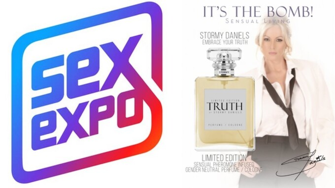 It's the Bomb to Showcase Stormy Daniels Fragrance at Sex Expo NY