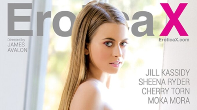 Jill Kassidy Partakes in 'Erotic Affairs 2' on EroticaX.com
