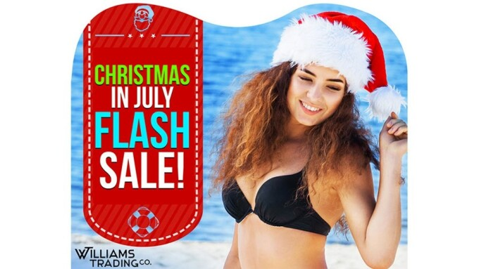 Williams Trading Announces 'Christmas in July' Flash Sale