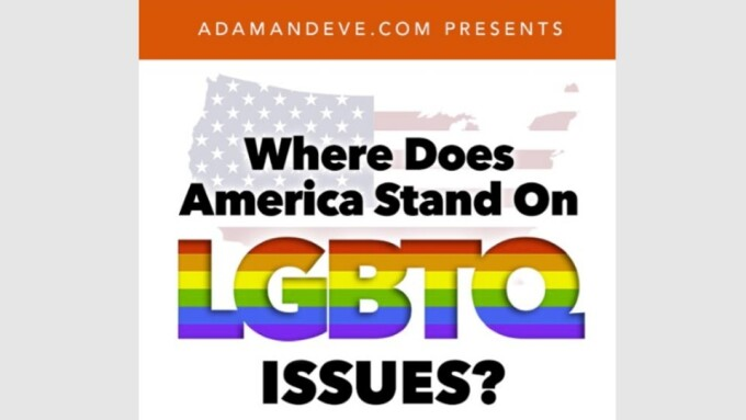 Adam & Eve Reveals Where Americans Stand on LGBTQ Issues