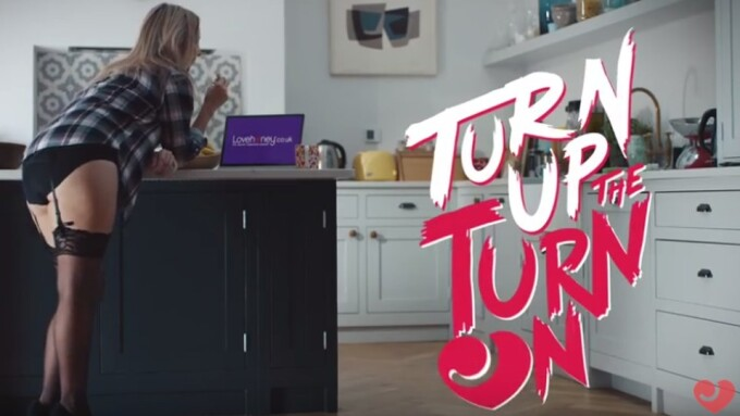 Video: Lovehoney's New 'Turn Up the Turn On' TV Ad Airs