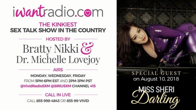 iWantRadio Welcomes Dominatrix Miss Sheri Darling