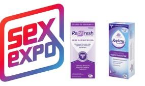 Replens, RepHresh to Exhibit at Sex Expo NY