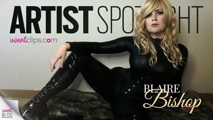 iWantBlog Spotlights Femdom Performer Blaire Bishop