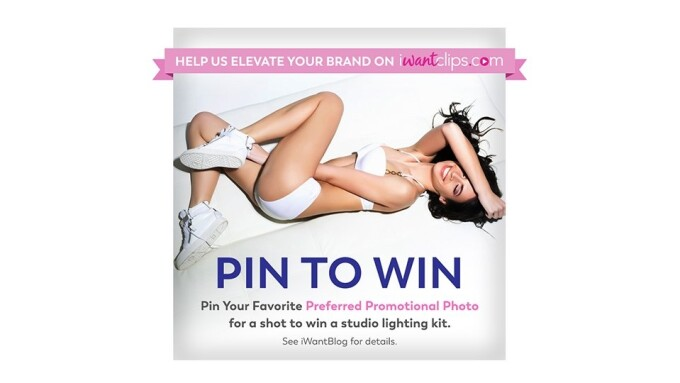 iWantClips Announces 'Pin to Win' Photo Contest