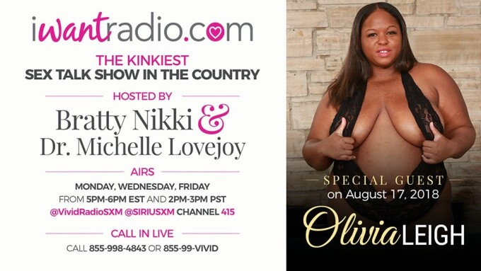 iWantRadio Welcomes Clip Star Olivia Leigh Today