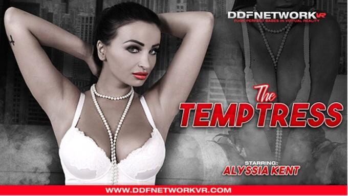 Alyssia Kent Stars in DDFNetwork VR's 'The Temptress'