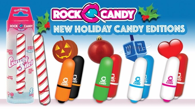 Rock Candy Introduces Holiday-Themed, Candy-Inspired Sex Toys