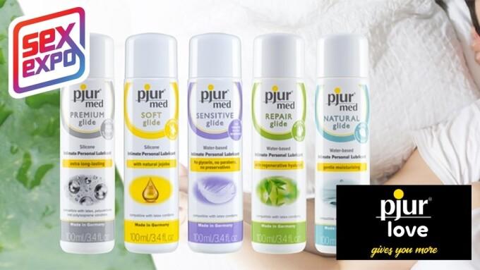 pjur group to Present pjur Med Line at Sex Expo
