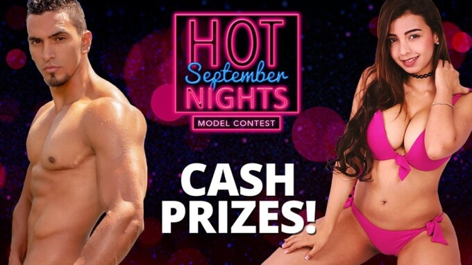 Flirt4Free Hosts 5-Day 'September Hot Nights' Contest for Models