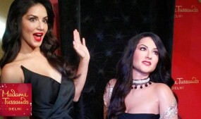 Sunny Leone Wax Statue Unveiled at Madame Tussauds