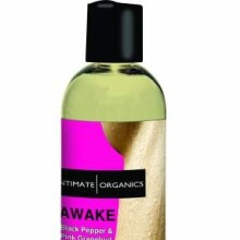 AWAKE Black Pepper & Pink Grapefruit Aromatherapy Massage Oil