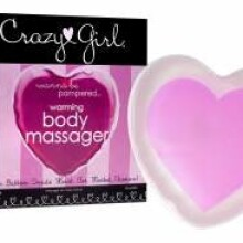 Crazy Girl Wanna Be Pampered Warming Body Massager