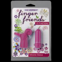 Finger Friends - Curly Cue - Fuchsia