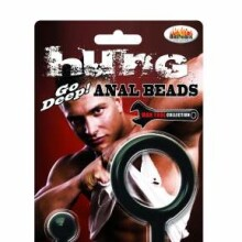 Hung - Anal Beads - black