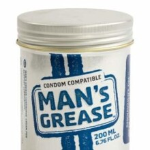 Man's Grease Water Based Cream Lubricant - 200 ml