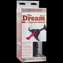 Vac-u-lock Platinum Edition • The Dream No.14 With Supreme Harness - Pink
