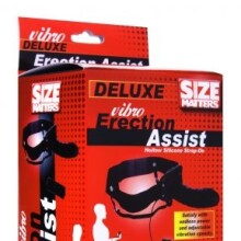 Size Matters - Deluxe Vibro Erection Assist Hollow Strap On