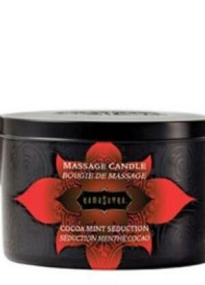 Cocoa Mint Seduction Massage Candle