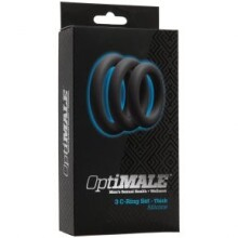 OptiMale C Ring Kit Thick - Slate