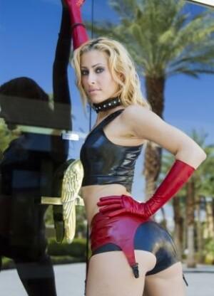 Fetisso Latex #4310 garter belt