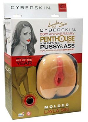 Penthouse Vibrating Pussy & Ass Layla Sin