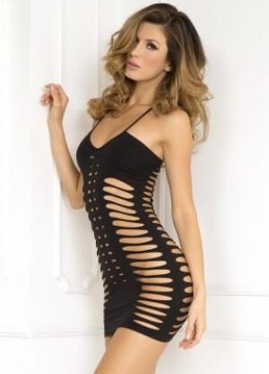 Sexy Side Slash Seamless Dress
