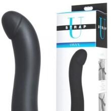 StrapU Onyx Vibrating Silicone G-Spot Dildo