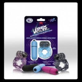 SexVoltz Pleasure Ring & Bullet Vibrator