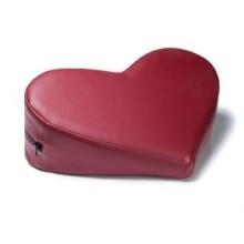Liberator Leather Heart Wedge