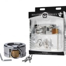 Master Series Fiend Stainless Steel CBT Piercing Chamber - 1.5 Inch