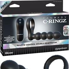 Fantasy C-Ringz Remote Control Double Penetrator