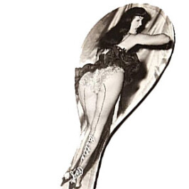 Bettie Page Picture This Spanking Bat