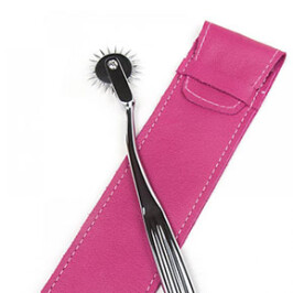 Joanna Angel Pinwheel w/ leather sheath
