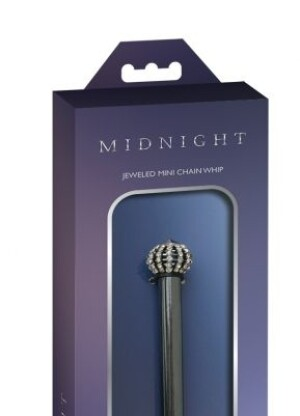 Midnight Jeweled Chain Tickler