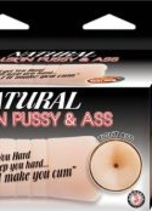 Natural Realskin Pussy & Ass