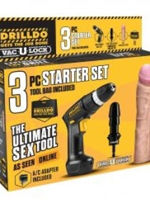 3 Piece Starter Drilldo Set