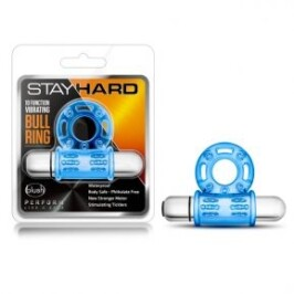 Stay Hard 10-Function Vibrating Bull Ring by Blush