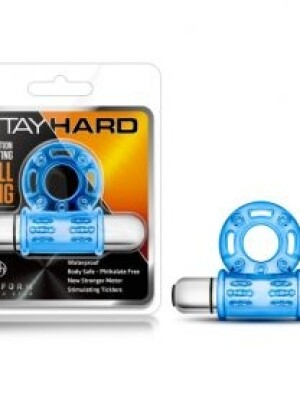 Stay Hard 10-Function Vibrating Bull Ring by Blush