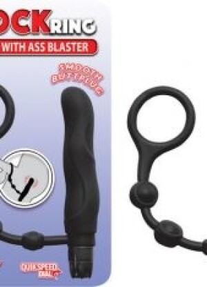 My CockRing with Ass Blaster