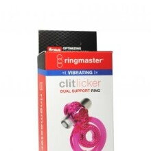 Ringmaster Vibrating Clit Licker Dual Support Ring