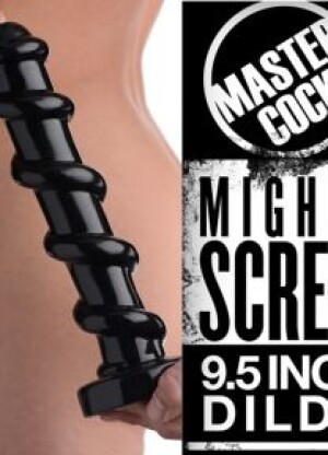 Master Cock Mighty Screw 9.5 Inch Dildo